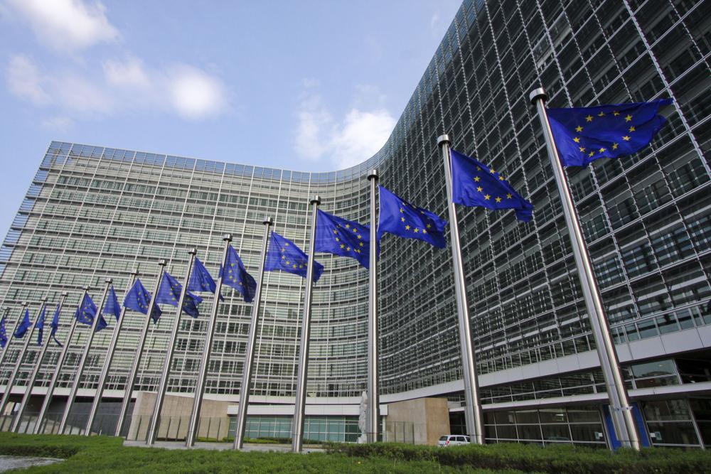 Il palazzo del Berlaymont a Bruxelles, sede della Commissione europea