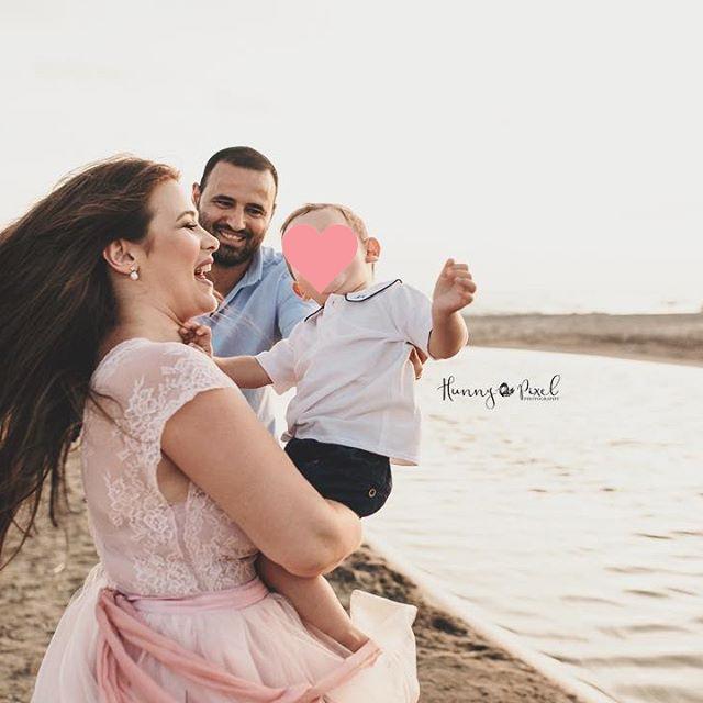 Alessandra D'Agostino e la sua famiglia