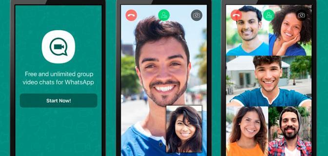 video chiamate di gruppo su WhatsApp