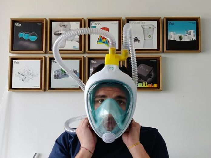 maskerna snorkeling