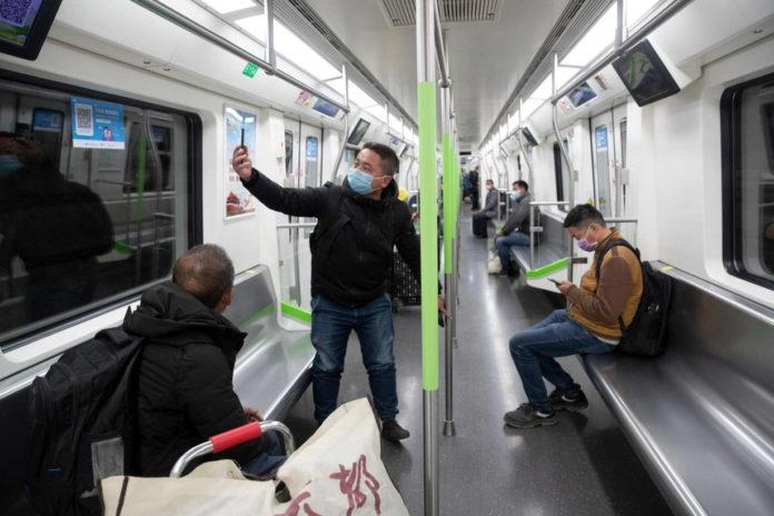 La metropolitana di Wuhan