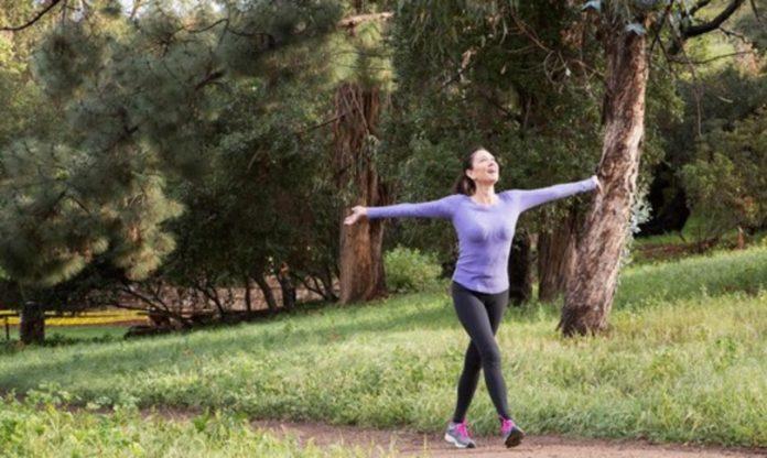 sì a jogging lontano da casa