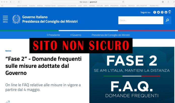 sito governo