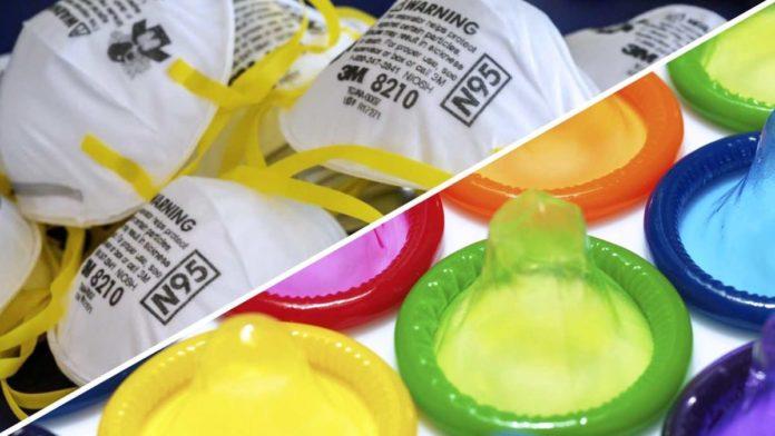 mascherine vs preservativi