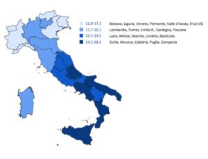mappa dei batteri resistenti in Italia