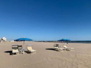 in spiaggia covid