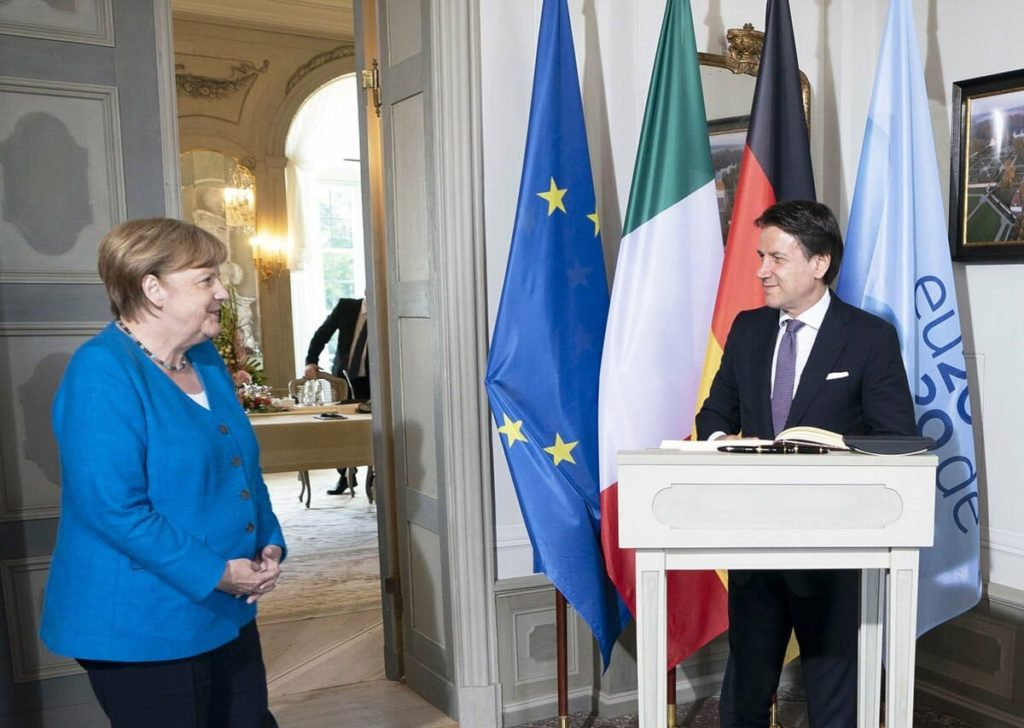Conte Merkel Recovery Fund