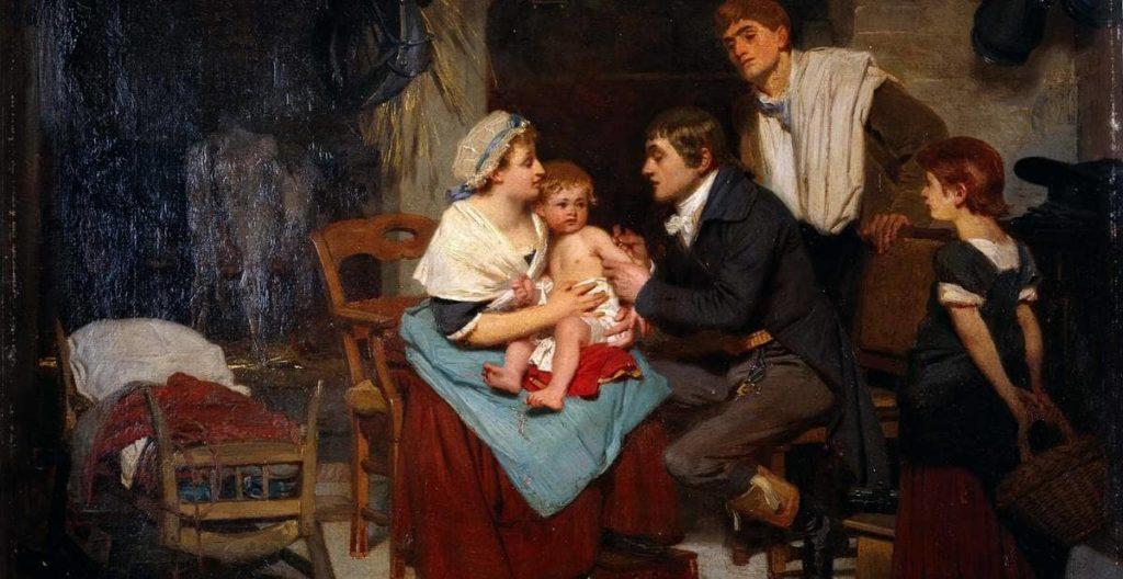 Edward Jenner padre Vaccini