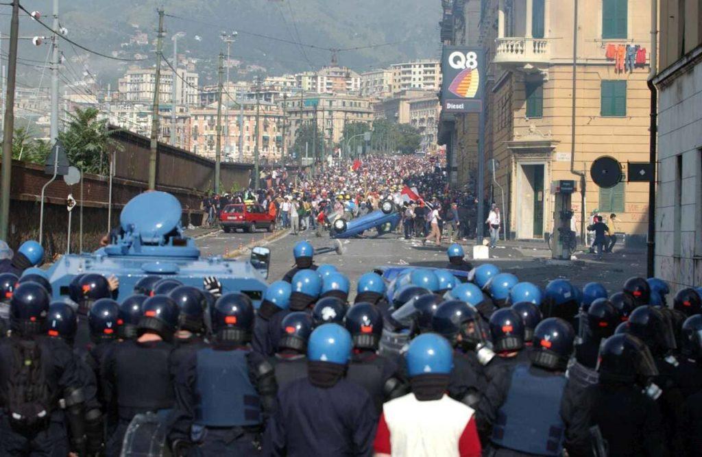 G8 Genova luglio 2001