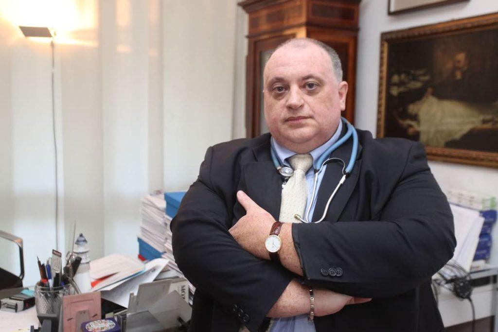 Roberto Rossi rischio paralisi