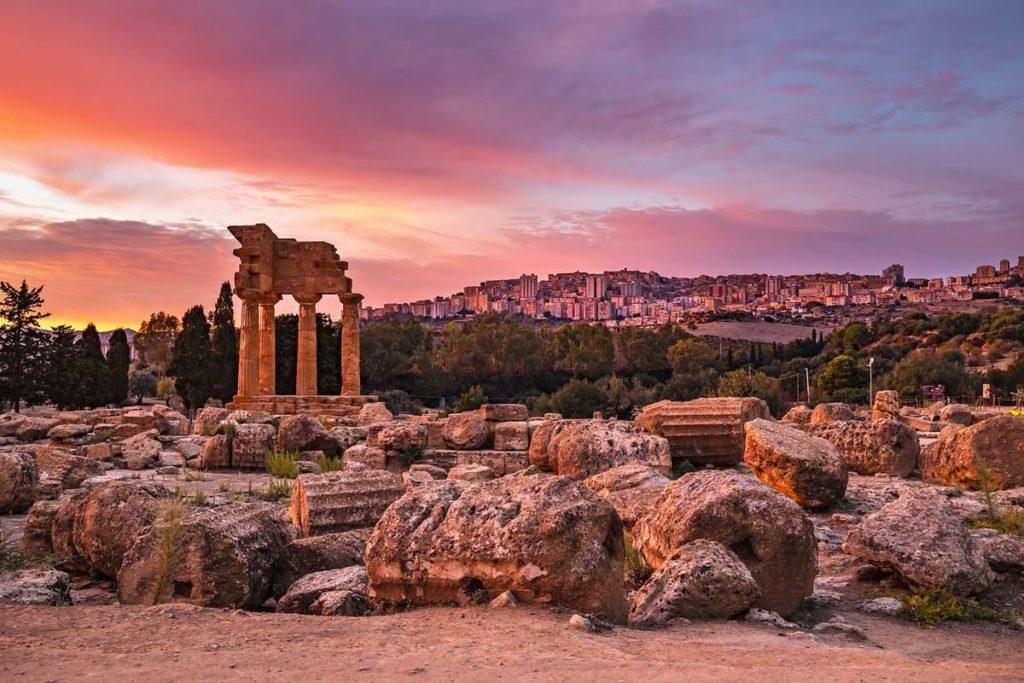 Valle Templi Agrigento