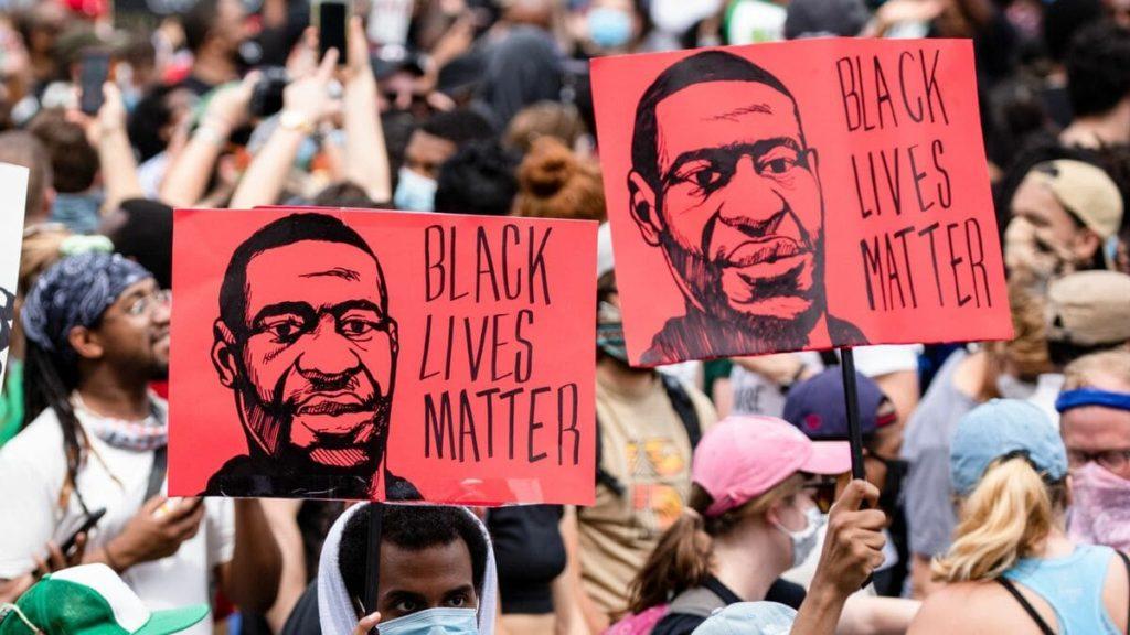 Black lives Matter George Floyd