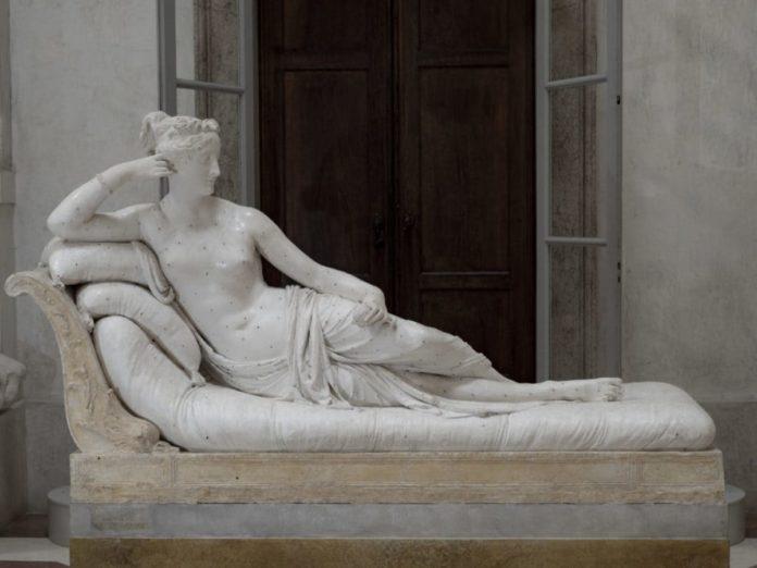 Canova Paolina Borghese Possagno
