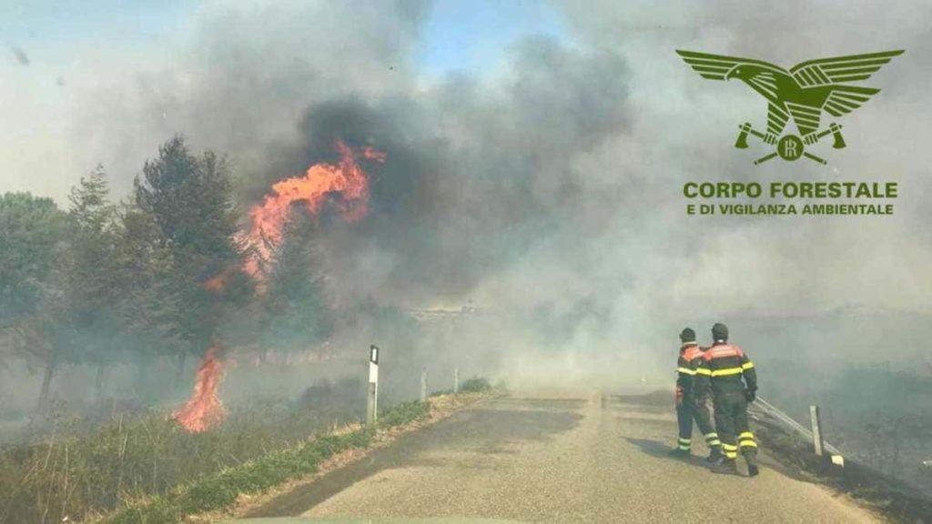 Sardegna brucia 2020