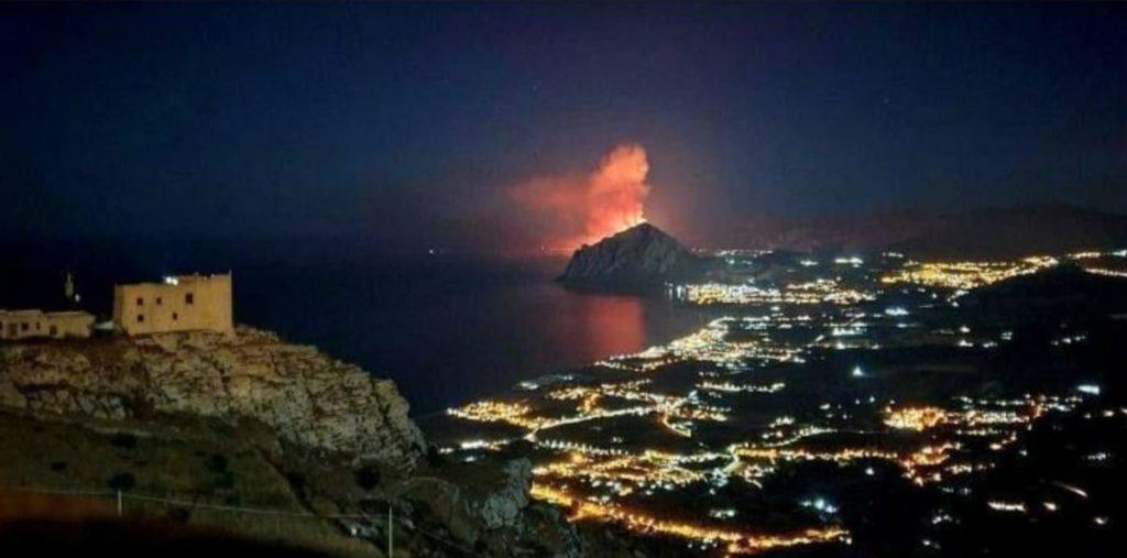 Incendi Sicilia 2020