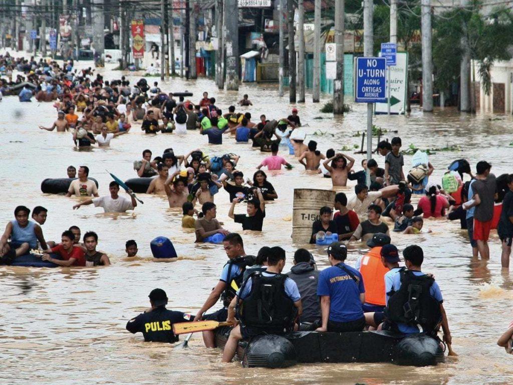 Inondazioni cambiamento climatico