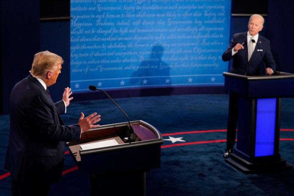 Trump-Biden dibattito