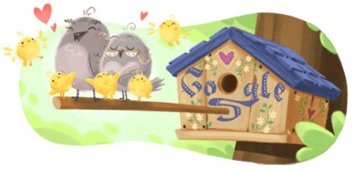 doodle di google festa dei nonni
