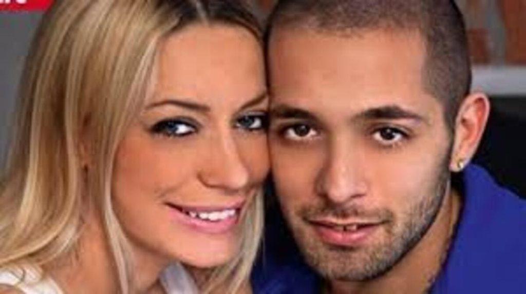 Karina Cascella e Salvatore Angelucci, ex e padre di sua figlia