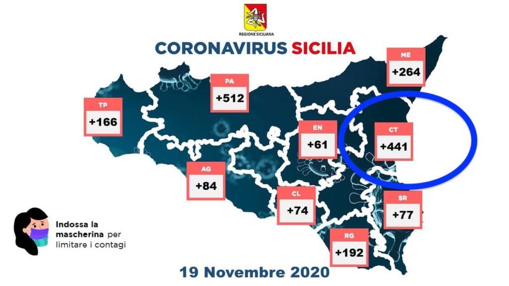 Sicilia-possibile zona rossa