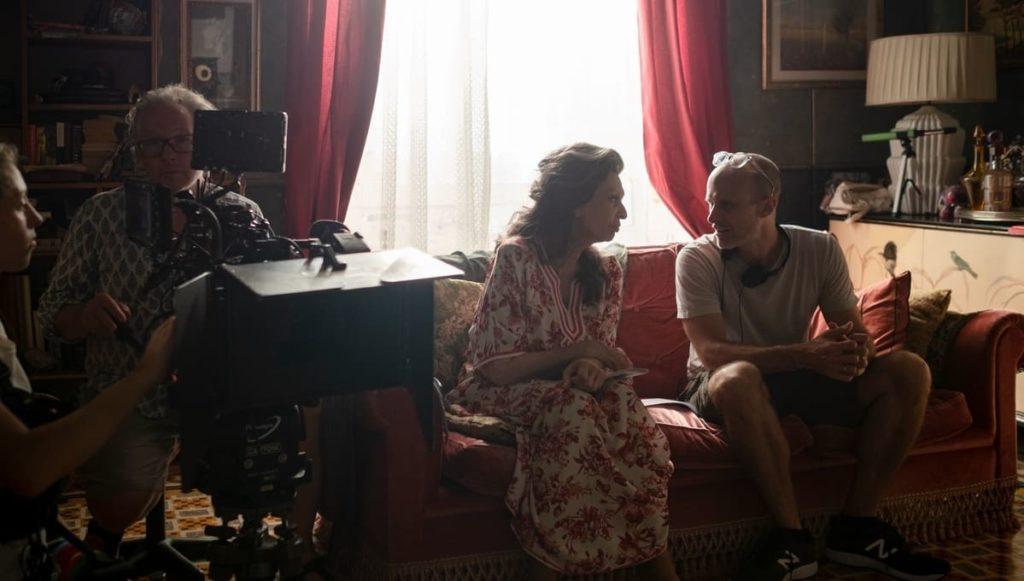 Sophia Loren insieme al figlio Edoardo Ponti