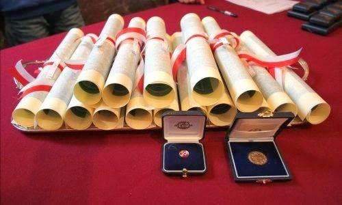 La cerimonia dell'Ambrogino d'Oro