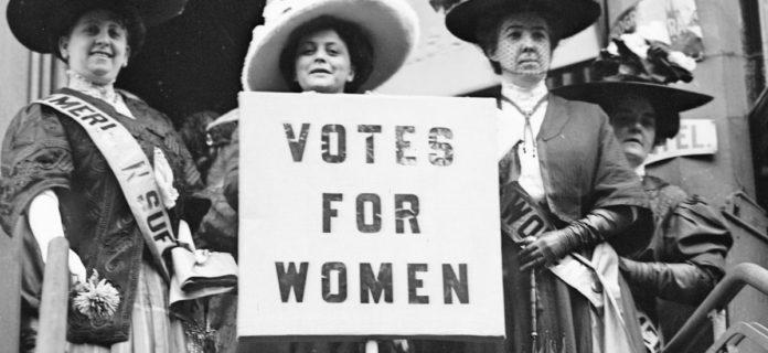 Il diritto di voto alle donne è stato ottenuto grazie alle suffragette