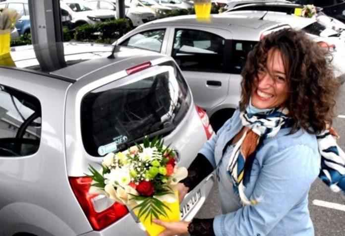 fioraia francese regala fiori