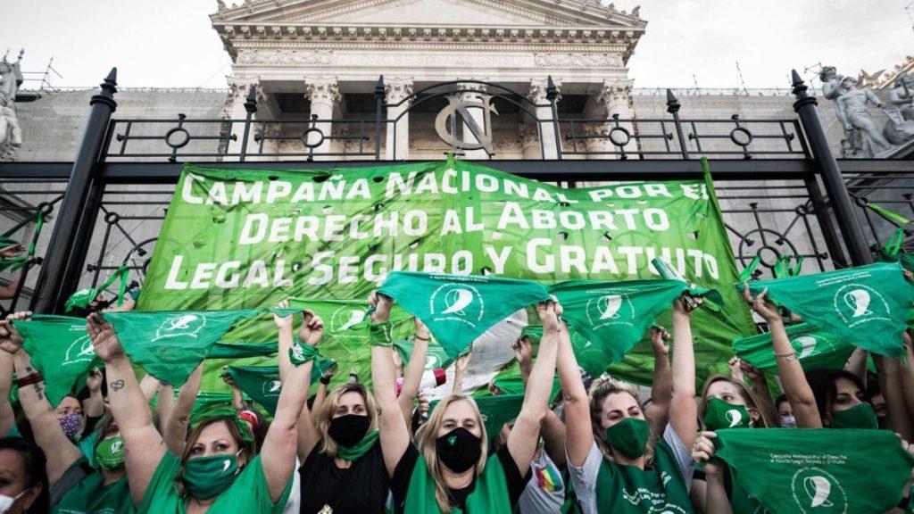 Aborto è legale in Argentina_attivista