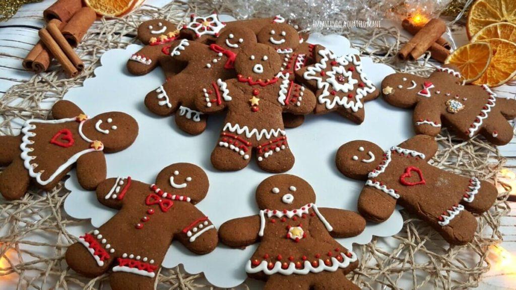 Dolci di Natale_biscotti pan di zenzero