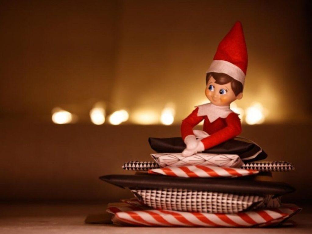 L'arrivo di Elf on the Shelf.