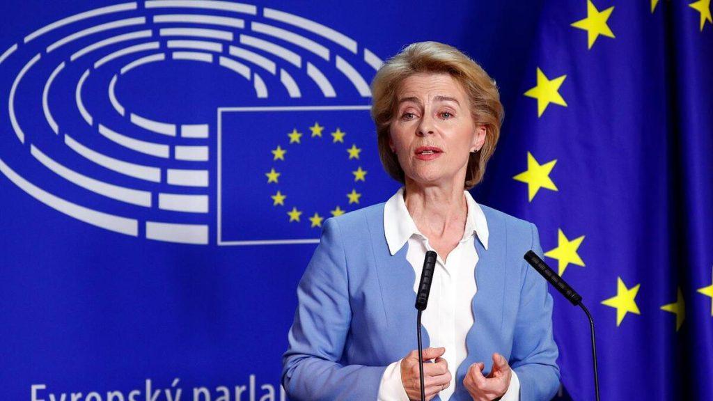 La presidente della Commissione Ue_Ursula von der Leyen