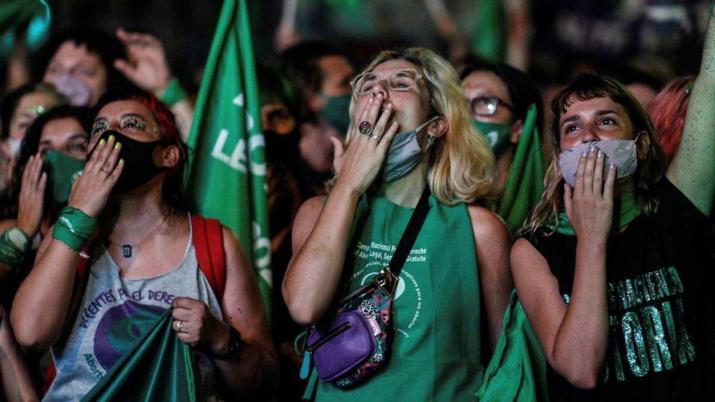 L'aborto è legale in Argentina_movimento