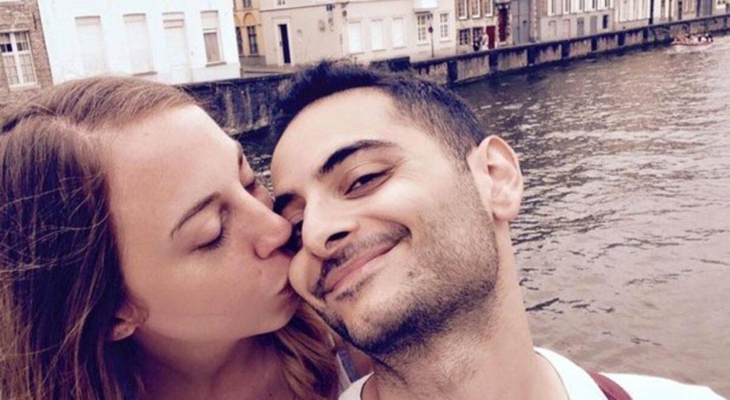 Antonio Megalizzi con la fidanzata.