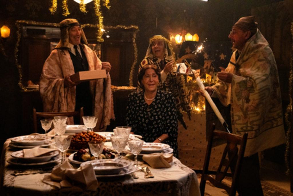 Una scena di Natale in casa Cupiello.