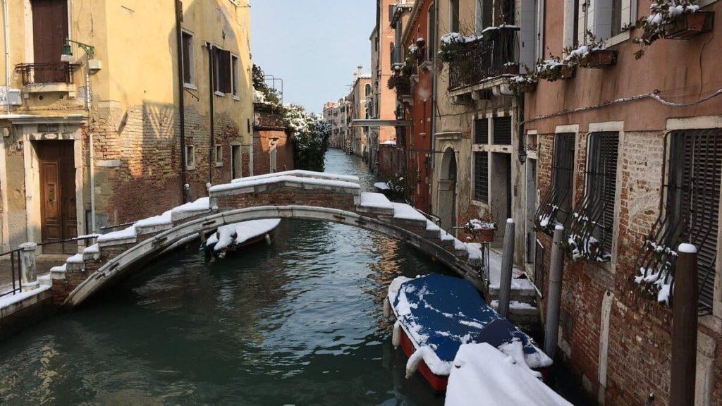 Ondata di Maltempo_Venezia innevata
