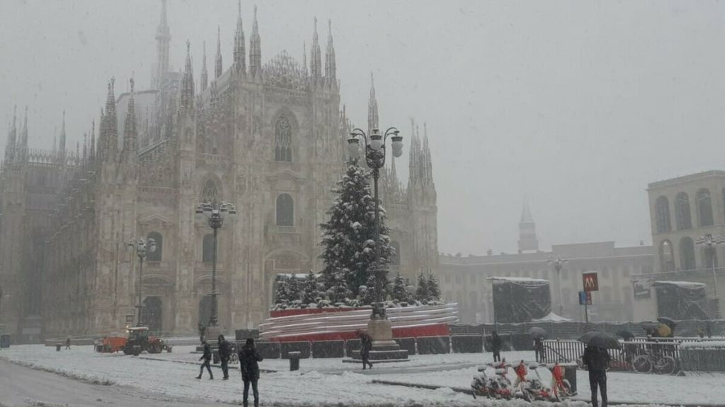 Ondata di maltempo_Milano