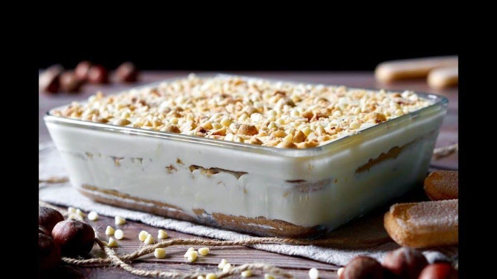 Ricette al cioccolato bianco_tiramisù al cioccolato bianco
