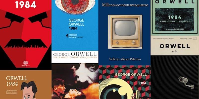 1984, George Orwell: nuove e vecchie copertine