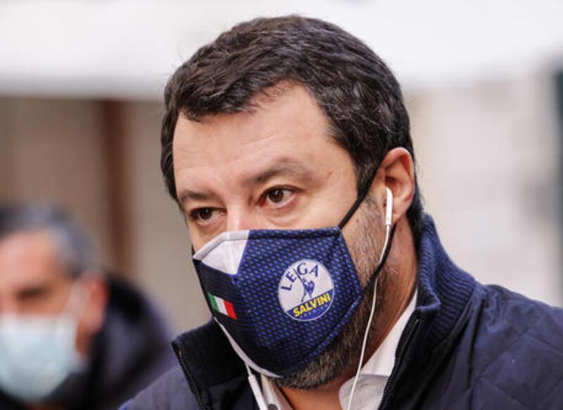 Salvini diserta il processo per vilipendio per la terza volta.