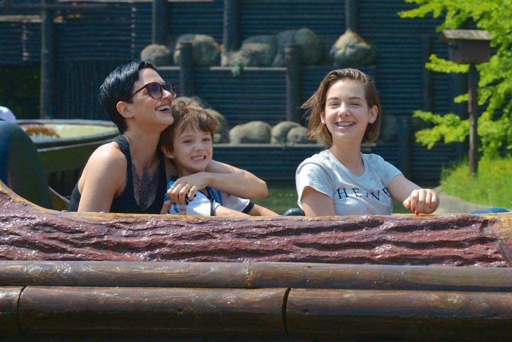 Asia Argento e la felicità data dai suoi figli.