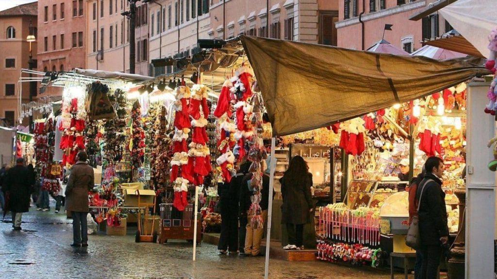 Befana di Piazza Navona_bancarelle