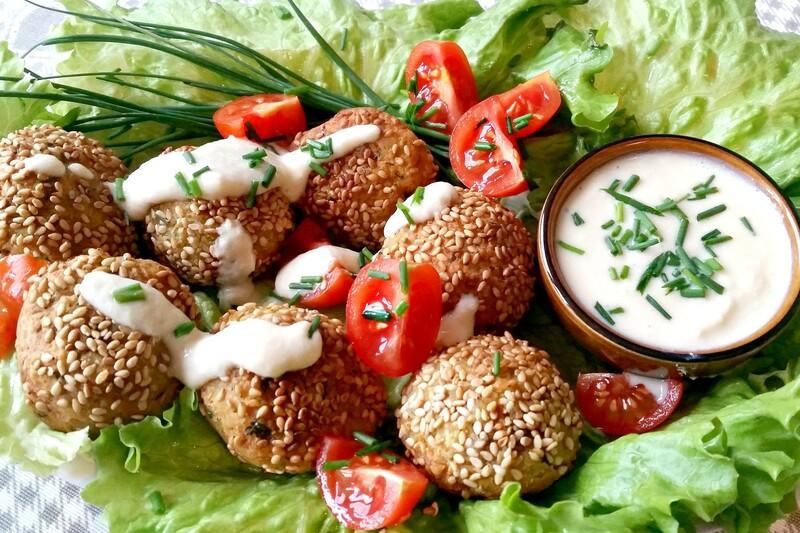 5 ricette vegane falafel.