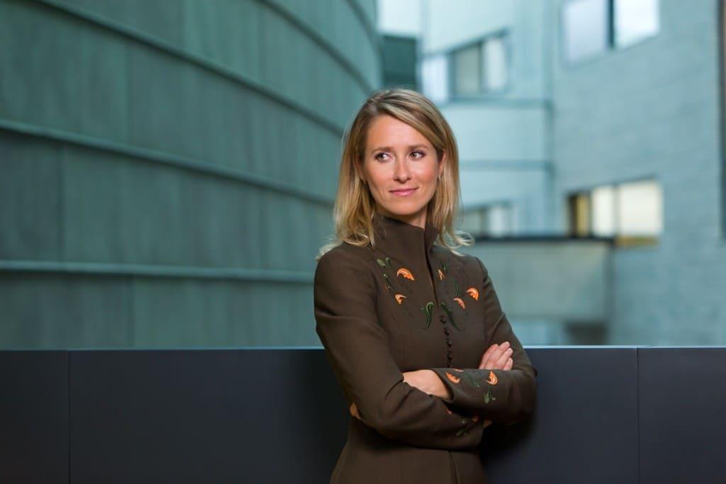 estonia Governo alle donne: chi è Kaja Kallas