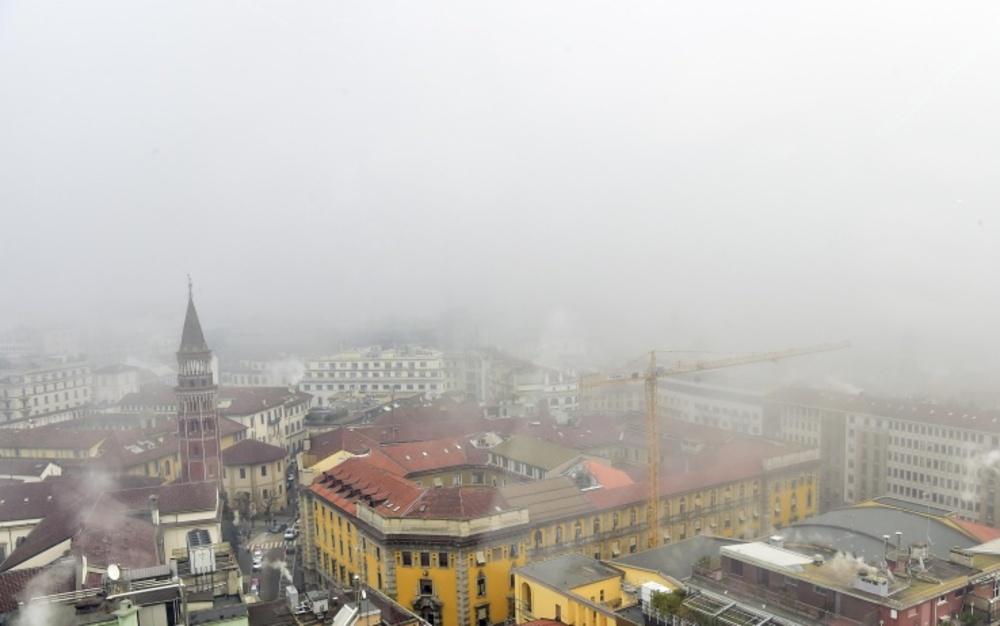 Smog in città.
