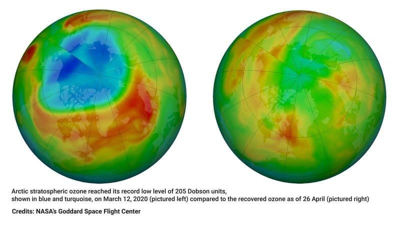 buco dell'ozono antartide