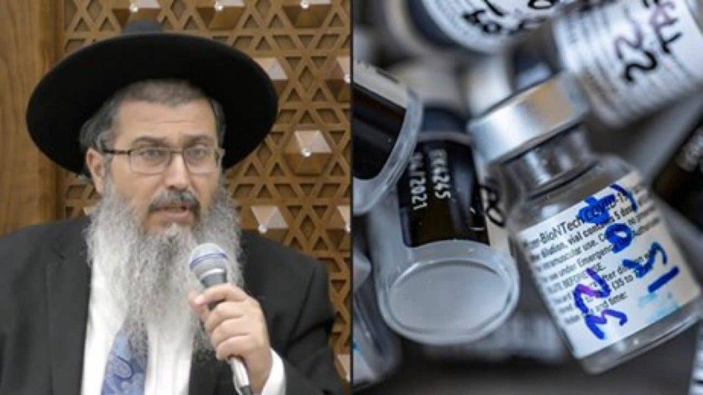 """Israele, rabbino choc: """"Non fate il vaccino""""."""
