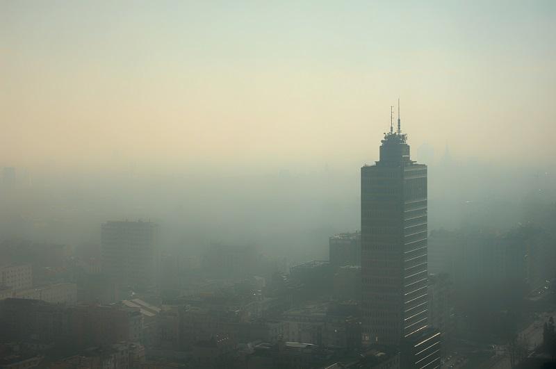 Inquinamento atmosferico Milano.