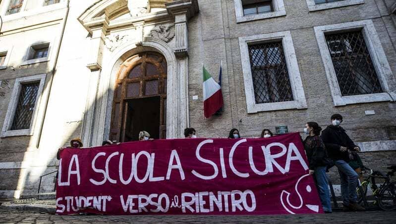 rientro a scuola, sciopero studenti roma