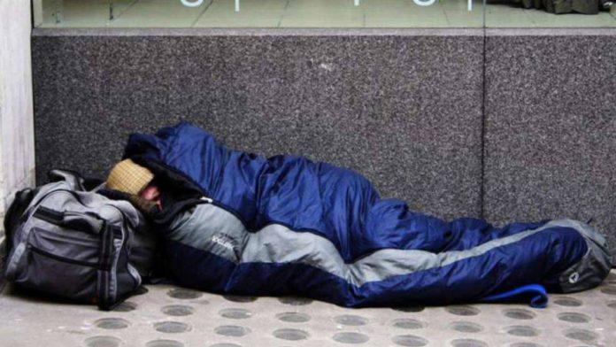 senzatetto emergenza